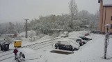 Deszcz ze śniegiem. Zagrożenie powodziowe i trudne warunki na drogach