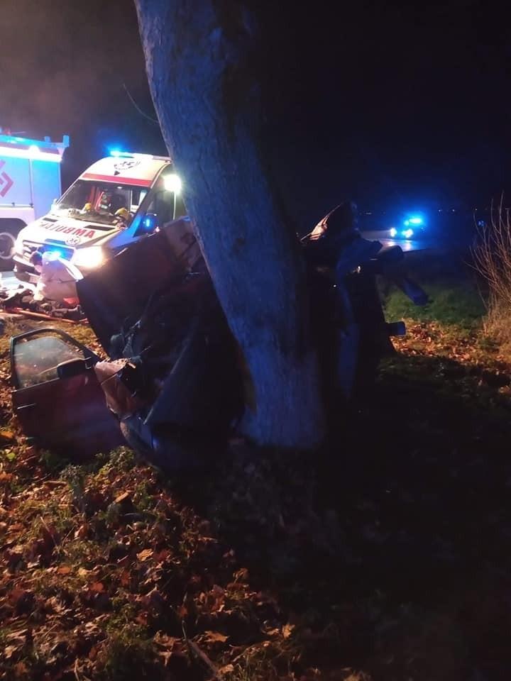 Kiersnówek. Wypadek śmiertelny zablokował DK 66. Kierowca...