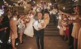 """Pałacowy ślub w Ostromecku. Adrianna Pietrus i Łukasz Krupa powiedzieli """"tak""""! [zdjęcia]"""