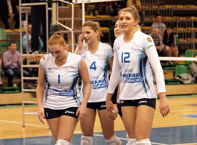 Patrycja Flakus (nr 12) była głównym architektem zwycięstwa w Murowanej Goślinie. Pozostałe jokerki też zagrały dobry mecz.