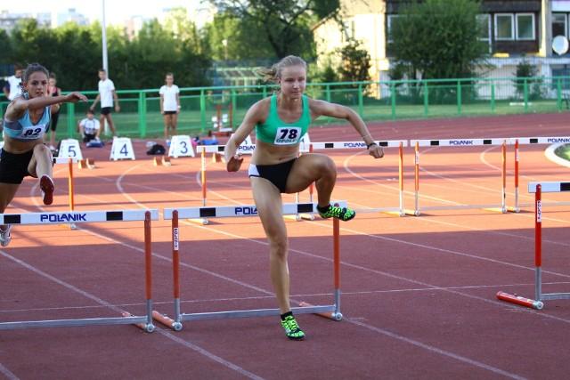 Katarzyna Siewruk była najlepsza na dystansie 100 metrów przez płotki.