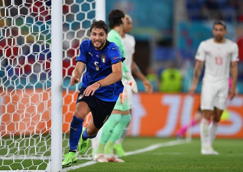 Euro 2020. Włochy - Szwajcaria 3:0 (1:0)