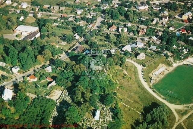 Czujnik sprawdza stan jakości powietrza w Mielniku już od tygodnia i wskazuje, że jest czyste.