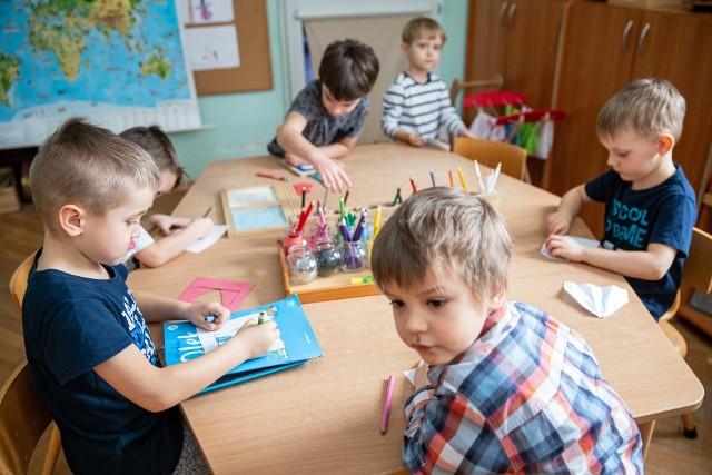 Mimo pandemii przedszkola były cały czas otwarte od maja 2020