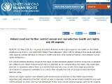 Eksperci ONZ wzywają polski parlament, by zaprzestał ograniczeń prawa w zakresie zdrowia seksualnego i reprodukcyjnego