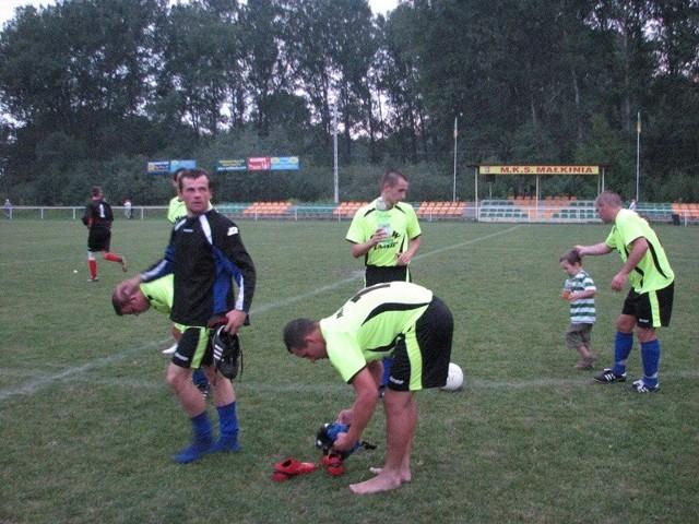 Mecz MKS Malkinia - Tygrys Huta Minska