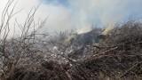 Krynki. Wielki pożar przy prawosławnym cmentarzu