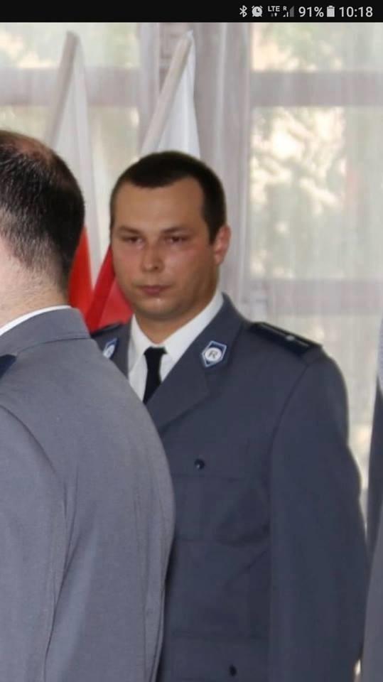 31-letni mł. asp. Marek Mieczkowski policyjny mundur założył jedenaście lat temu