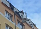 Wichura nad Łodzią. Połamane drzewa i słupy, zerwane dachy