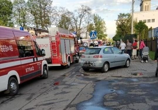 Wypadek w Radlinie na przejściu dla pieszych: 9-latek potrącony został na przejściu dla pieszych przy ul. Korfantego w Radlinie