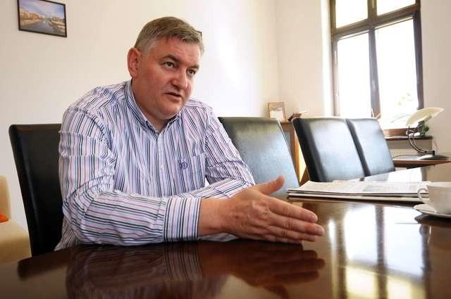 Poseł Jarosław Katulski - kandydat PO do sejmiku - zapewnia, że nie chce ubiegać się o fotel marszałka województwa