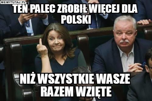 Gest Lichockiej podbija Twitter.
