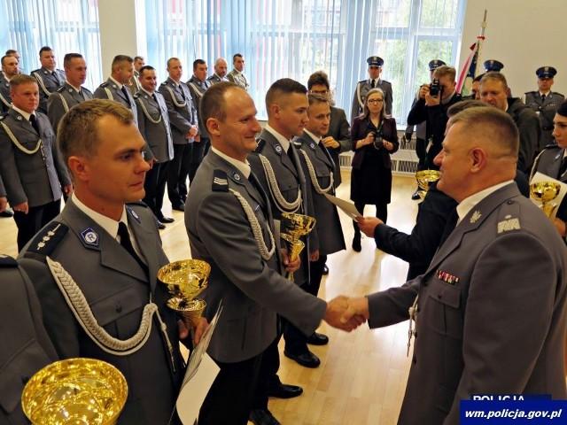 Policjant ruchu drogowego. Policjanci z Białegostoku zajęli III miejsce