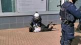 Protest w Głogowie. Policja brutalnie zatrzymała młodą kobietę