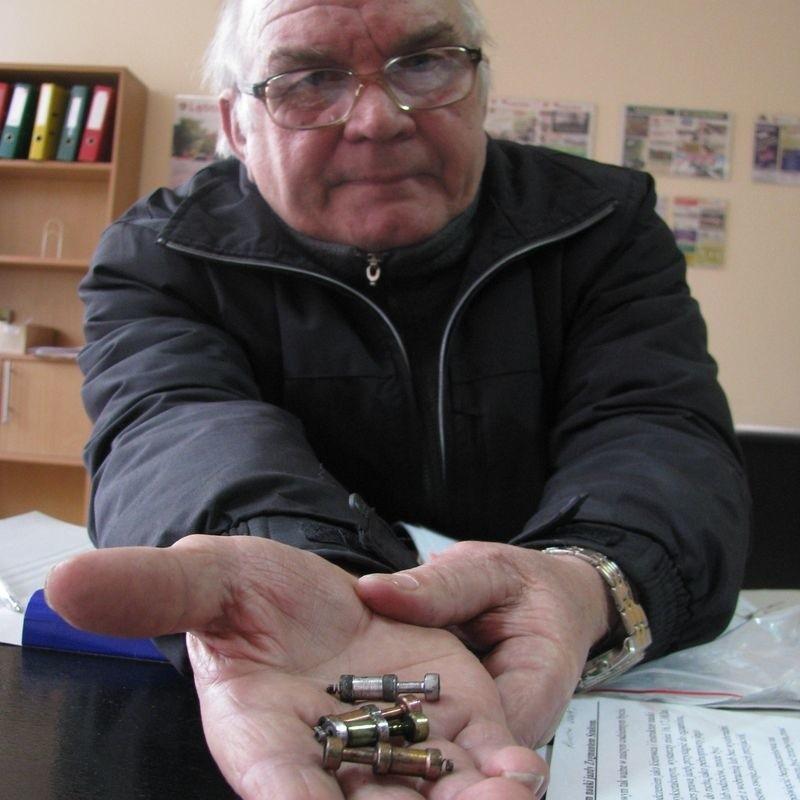 Pan Zygmunt z Lęborka skarży się na słupski serwis Fiata.