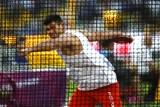 Robert Urbanek rzucił dyskiem 62,58 metra w zawodach w Estonii