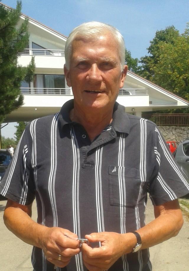 76-letni Zdzisław Podedworny jest emerytem, mieszka w Ustroniu