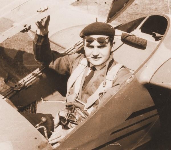 Dionizy Bielański był w Opolu znanym pilotem. W PRL czuł się coraz bardziej osaczony.