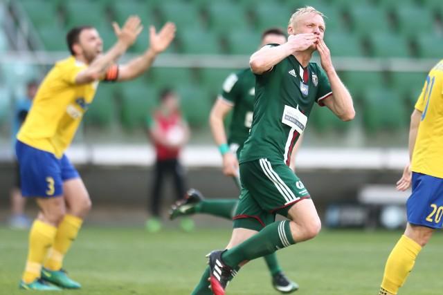 Mariusz Pawelec strzelił swojego drugiego gola w Lotto Ekstraklasie