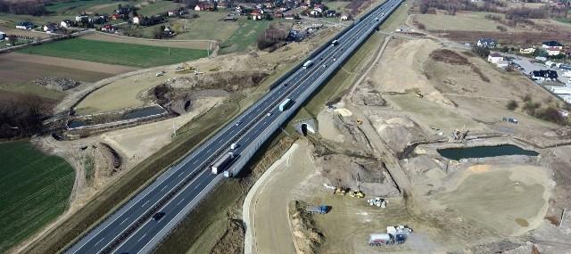 Budowa Węzła Niepołomice. Prace za 48 mln zł ruszyły jesienią 2018 roku