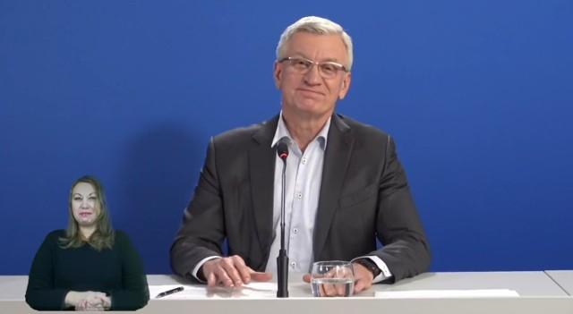 - Nie chciałbym publicznie robić jakichś demonstracji - mówił prezydent Jacek Jaśkowiak.