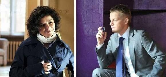 """Cichopek i Mroczek, amatorzy w """"M jak miłość"""". Zarabiają sumy, o których wielu profesjonalnych aktorów może tylko pomarzyć."""