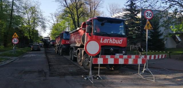 Prace na odcinku Radwańska - Potza już trwają
