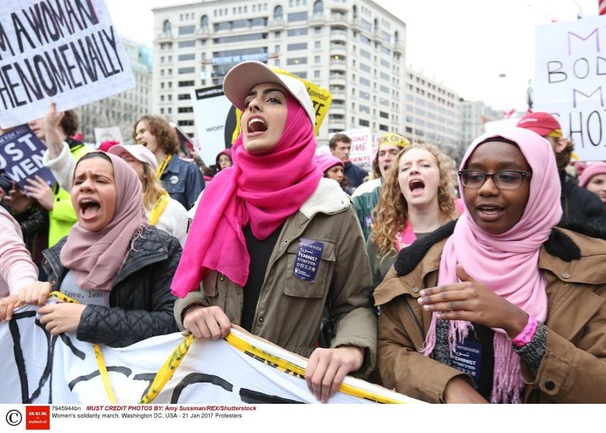 USA: Marsz kobiet w Waszyngtonie. Protesty przeciwko prezydentowi Trumpowi [ZDJĘCIA] [VIDEO]