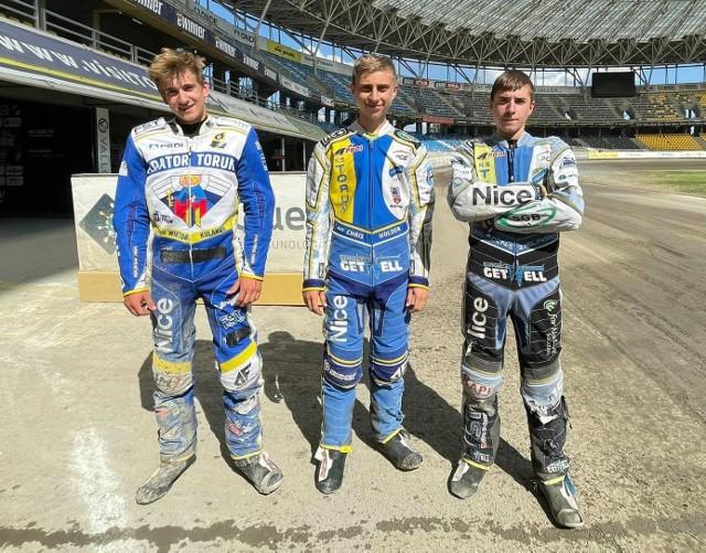 Kacper Czajkowski, Mateusz Affelt i Pascal Krajewski będą zbierać doświadczenia w Ekstralidze U-24