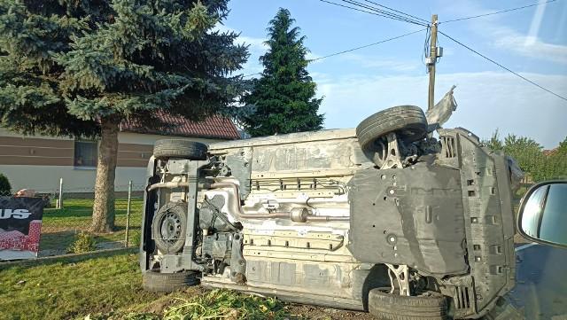 Wypadek w Buszkowie (gmina Koronowo).