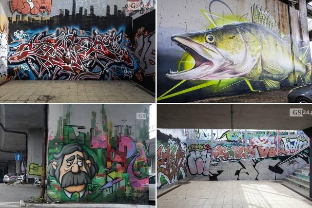 Murale w Szczecinie