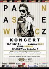 Janusz Panasewicz zagra w Krakowie