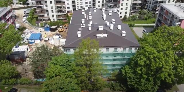 Łączny koszt budowy to około 8,1 mln zł