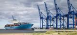 Terminal DCT i największe kontenerowce