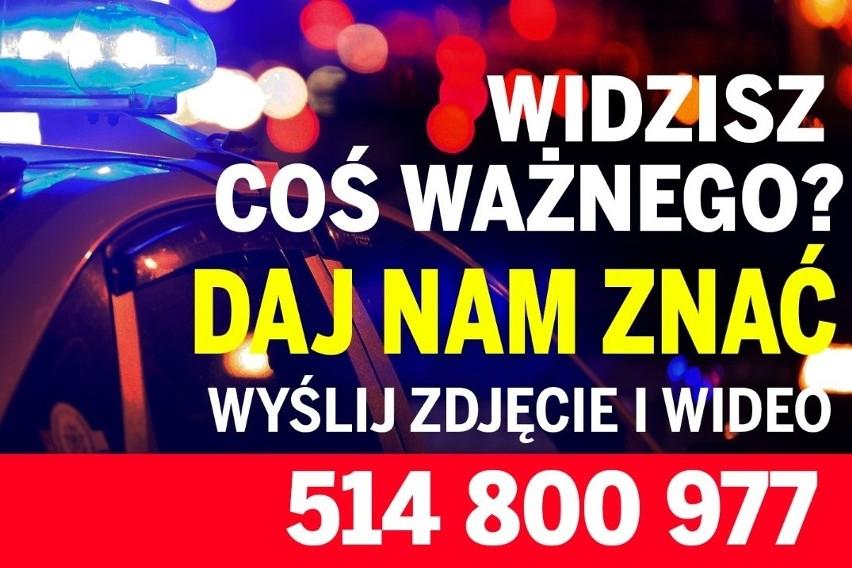 Raport drogowy 3.05.2017 z Pomorza. Wypadek w Cyganach (powiat kwidzyński)
