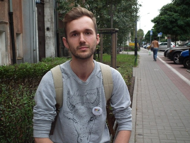 - Wybieramy się na marsz, ponieważ jest on świetną formą nacisku i lobbingu politycznego - mówi Mateusz Sulwiński
