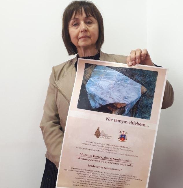 Na wystawę zaprasza Urszula Stępień kustosz Muzeum Diecezjalnego w Sandomierzu.