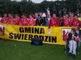 Dziesięć lat temu w finale lubuskiego Pucharu Polski w Zbąszynku Pogoń Świebodzin pokonała Promienia Żary