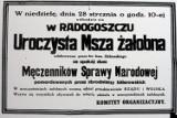 Niemcy zamordowali więźniów z Radogoszcza [ZDJĘCIA]