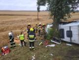 Dwie osoby zginęły, dziewięć zostało rannych. Są zarzuty dla kierowcy