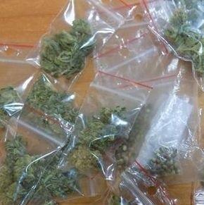 Marihuana była w samochodzie. Policja podejrzewa, że należała do pasażera