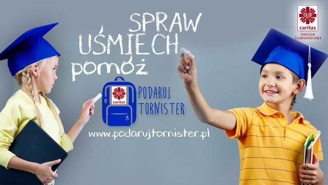 Podaruj tornister - akcja Caritas w Sosnowcu