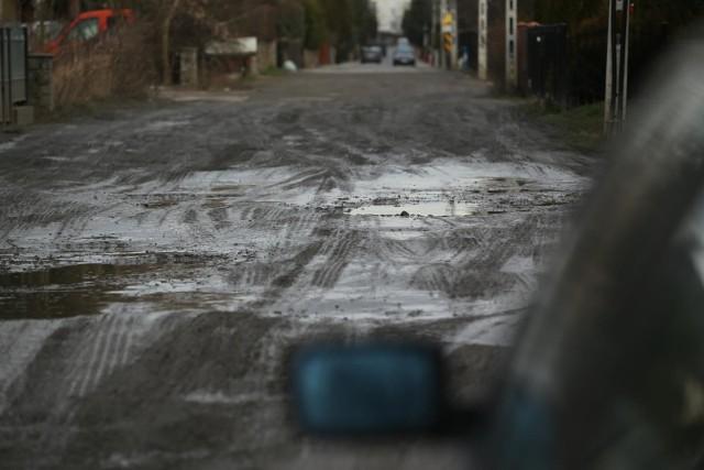 Tak wyglądała ulica Zagłoby przez rozpoczęciem remontu