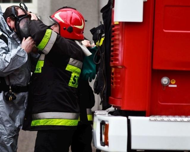 Informację o pożarze strażacy otrzymali około godziny 5:30 - poinformował nas dyżurny WSKR w Białymstoku.
