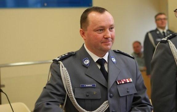 Nadinsp. Tomasz Trawiński został nowym komendantem dolnośląskiej policji