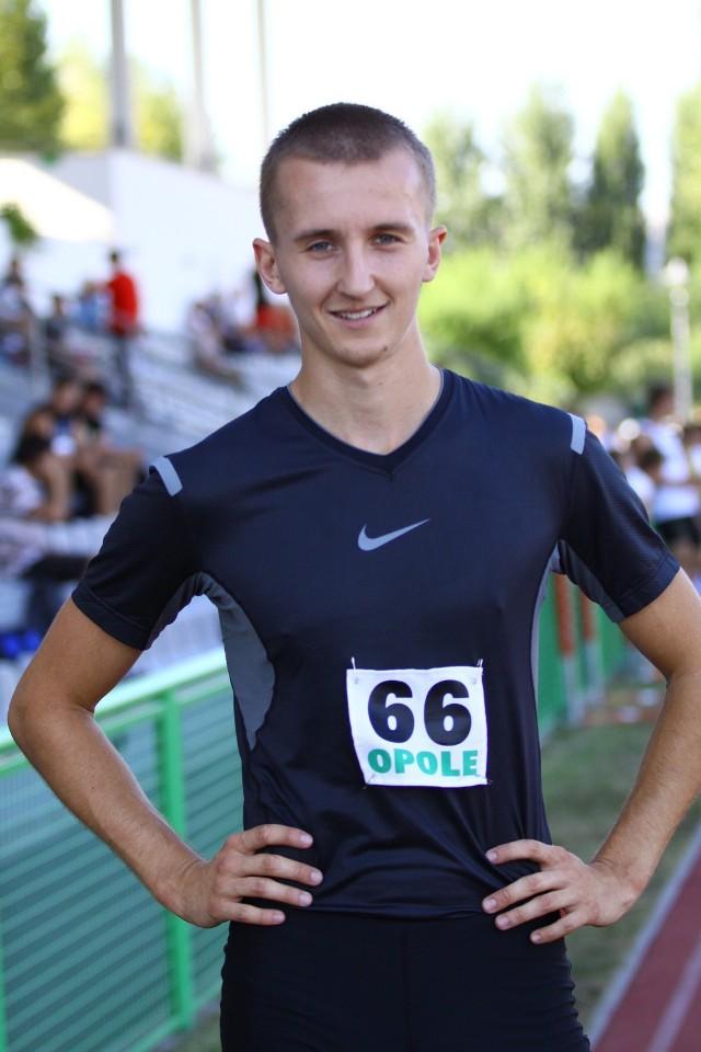 Michał Kula zajął na zawodach w Spale 2. miejsce w biegu na 60 metrów przez płotki.