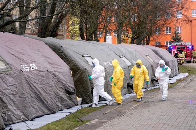 W środę w Lublinie i Chełmie przeprowadzono ćwiczenia działania służb - na wypadek wystąpienia w naszym regionie koronawirusa