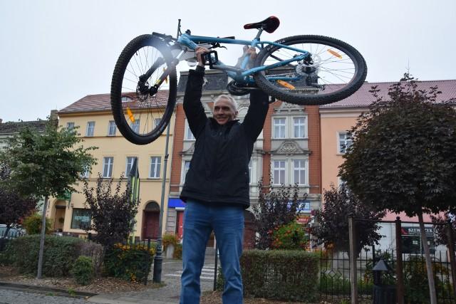 Nowa Sól - rowerową stolicą Polski. Uroczyste podziękowanie rowerzystom za jazdę dla miasta, pl. Wyzwolenia, Nowa Sól, 8 października 2019 r.