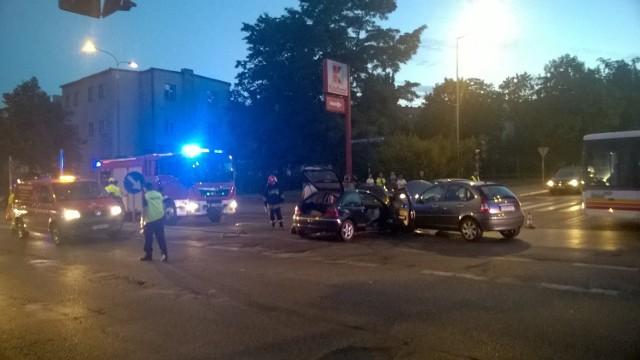 Do wypadku w Gorzowie doszło tuż przed 20.00.