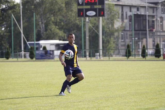 Dawid Kiliński już po raz trzeci w tym sezonie zdobył gola z rzutu wolnego.